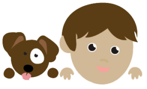 Dog and Boy Icon RedRover Readers